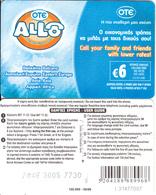 GREECE - Allo Card, OTE Prepaid Card 6 Euro, CN : I 31-grey Writing, Tirage 16000, 08/06, Used - Greece