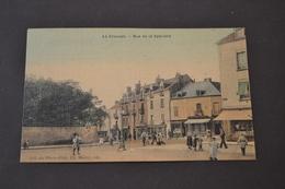 Carte Postale 1900/1910 Le Creusot Rue De La Sablière  Colorisée - Le Creusot