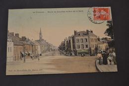Carte Postale 1909 Le Creusot Route De Couches  Colorisée - Le Creusot