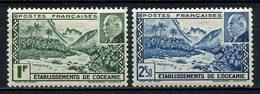 OCEANIE 1941 N° 138/139 ** Neufs MNH Superbes C 3 € Vallée De Fataoua Pétain - Neufs