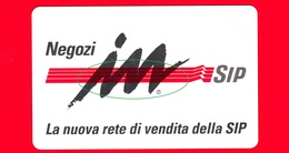 Nuova - MNH - ITALIA - Scheda Telefonica - SIP - Negozi InSip - Golden 352 - Variante - Italie