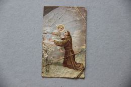 Saint Antoine De Padoue Et L'Enfant Jésus - Images Religieuses