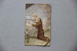 Image Pieuse, Saint Antoine De Padoue Et L'Enfant Jésus - Images Religieuses