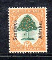 APR550 - SOUTH WEST AFRICA 1926 ,  Due Valori Linguellati *  (2380A). - Africa Del Sud-Ovest (1923-1990)