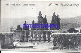 110760 ITALY TIVOLI ROMA VILLA D'ESTE VIEW PARTIAL POSTAL POSTCARD - Italie