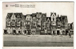 Coxyde Bains/Baden - Villas Sur La Digue Côté Est - Côté Est - 1949 - Edit. Thill N° 63 - 2 Scans - Koksijde