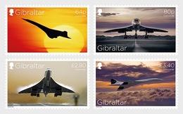 H01 Gibraltar 2019 Concorde 50th Anniversary MNH Postfrisch - Gibraltar