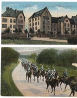 Caserne à Mainz Et Uhlans  - WWI - Kazerne
