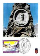 ITALIA - 1984 BARDONECCHIA (TO) Bicentenario Nascita GIUSEPPE FRANCESCO MEDAIL Imprenditore Su Cartolina Speciale - Francobolli