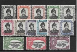 Brunei. Dos Series Nuevas 98/108*-109/11* - Brunei (1984-...)