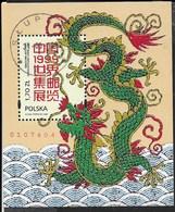 POLONIA - CHINA '99 - ESPOSIZIONE FILATELICA 1999   - FOGLIETTO USATO (YVERT BF 145 - MICHEL BL 135) - Esposizioni Filateliche