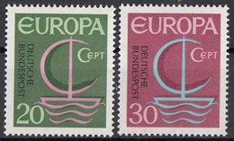 Germania 1966 Sc. 963-964 Europa CEPT Full Set MNH Germany - Europa-CEPT
