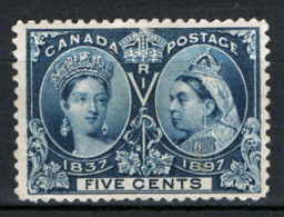 Canada 1897 Y.T.42 MH/* VF/F - 1851-1902 Reign Of Victoria