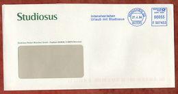 Brief, Francotyp-Postalia F507453, Urlaub Mit Studiosus, 55 C, Muenchen 2004 (72641) - BRD