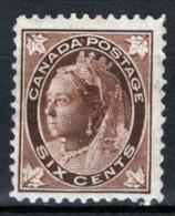 Canada 1897 Y.T.59 MH/* VF/F - 1851-1902 Regno Di Victoria
