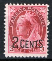 Canada 1899 Y.T.77 MH/* VF/F - 1851-1902 Regno Di Victoria