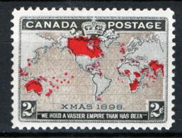 Canada 1898 Y.T.73 MH/* VF/F - 1851-1902 Regno Di Victoria