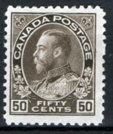 Canada 1911 Y.T.99 MH/* VF/F - Nuovi