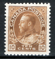 Canada 1918 Y.T.117 MH/* VF/F - 1911-1935 Reign Of George V