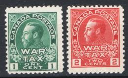Canada 1915 Y.T.100/01 MH/* VF/F - Nuovi