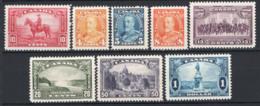 Canada 1935 Y.T.182/89 MH/* VF/F - Nuovi