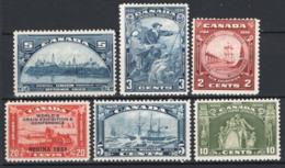 Canada 1933/34 Y.T.168/72 MH/* VF/F - Nuovi