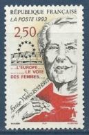 """FR YT 2809 """" Louise Weiss """" 1993 Neuf** - France"""
