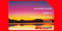 ITALIA - Scheda Telefonica - Usata - TELECOM - Alba Telecom Italia - Golden 388 - Variante - Italia