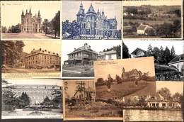 Brabant Wallon - Lot 10 Cartes (animée,.. Voir Scans) - België