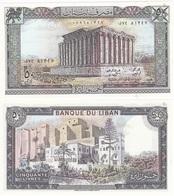 Lebanon - 50 Livres 1988 UNC Lemberg-Zp - Liban