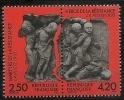"""FR YT P2813A Paire """" Martyrs Et Héros De La Résistance """" 1993 Neuf** - France"""
