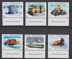 "Ross Dependency 2000 Transport On The Ice 6v (""Paraparaumu, New Zealand"" In Margin) ** Mnh (42421B) - Ross Dependency (Nieuw-Zeeland)"