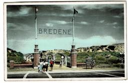 Bredene S/Mer - A/Zee - Entrée Vers La Plage / Toegang Tot Het Strand - Circulée - Edit. O. Poppe-Mathys - 2 Scans - Bredene