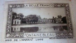 1931 FONTAINEBLEAU  LA BELLE FRANCE AMIS DE L'ENSEIGNEMENT LIBRE   Timbre Vignette Erinnophilie -Neuf*. - Tourisme (Vignettes)