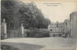 D95 - CHÂTEAU DES BEAUHARNAIS - ENTREE PRINCIPALE - Véhicule Ancien - France