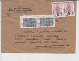 Turkey  Cover, Stamps     (A-2562) - 1921-... République