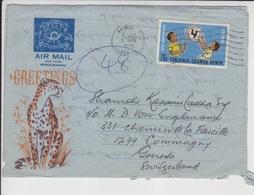 Tanzania Cover, Stamps    (A-2562) - Tanzania (1964-...)
