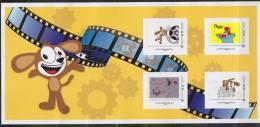 = Dans Les Coulisses Du Film D'Animation 4 TVP France-20g, Oggy, Fifi Le Chien, Nicolas & Guillemette - Collectors