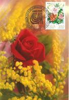 ITALIA - 1981 SALSOMAGGIORE T. (PR) Campionati Naz. Universitari CONI/CUSI Su Cartolina Ill. (fiori In Tema Con Franc.) - Atletica