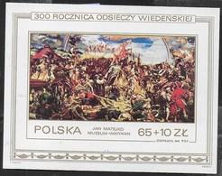 POLONIA - 300° VIENNA - JAN MATEJKO 1983 - FOGLIETTO NUOVO** (YVERT BF 101 - MICHEL BL 93) - Arte