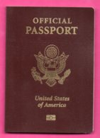 OFFICIAL PASSPORT UNITED STATES OF AMERICA 913 - Historical Documents