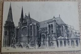 Cpa - (28) - Cathédrale De Chartres L'abside - Tampon Hopital Auxiliaire Du Territoire N 103 - 1915 - Chartres