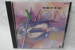 "CD ""Joe Venuti/Stephane Grappelli"" The Best Of The Jazz Violins - Jazz"