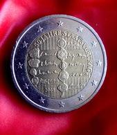 Austria 2 Euro 2005 UNC 50th Anniversary Of The Austrian State Treaty Coin  CIRCULATED - Oostenrijk
