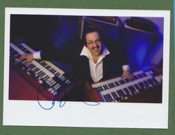 JOEY DE FRANCESCO  AUTOGRAPH / AUTOGRAMM   In Person Signed Glossy Photo 13/18 Cm 5 X 7 Inch  *JAZZ* - Autographes