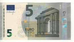 "5 EURO  ""Ireland""    DRAGHI    T 005 F2    TC3146412242  /  FDS - UNC - EURO"