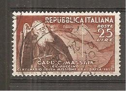 Italia-Italy Yvert Nº 640 (usado) (o) - 6. 1946-.. República