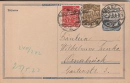 Allemagne Entier Postal Inflation Essen 1923 - Deutschland
