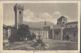 Trento - Castelletto Del Duomo E Torre Di Piazza - HP1631 - Trento