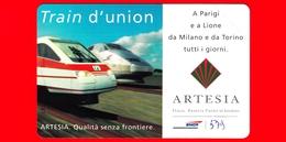Nuova - MNH - ITALIA - Scheda Telefonica - TELECOM - Train D'union - A Parigi E A ..- Golden 579 - Variante - Italia